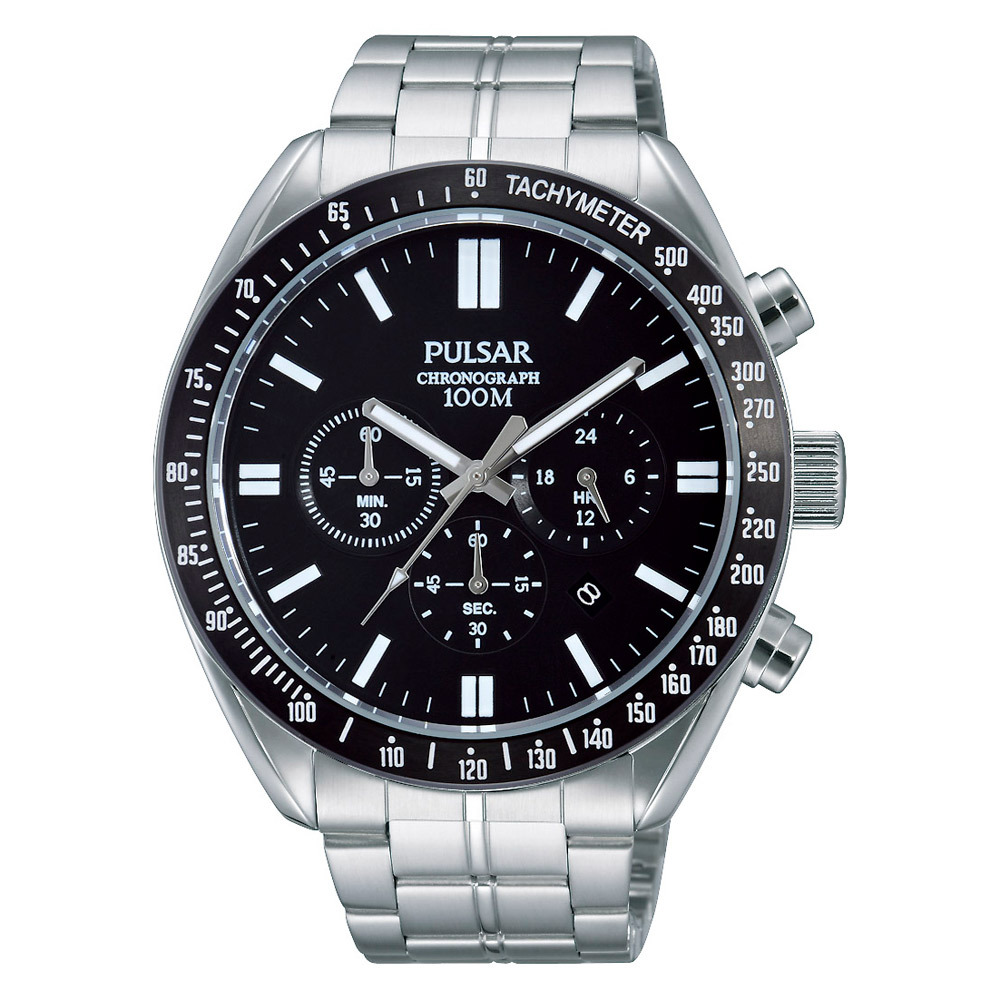 Pulsar Herenhorloge Chronograaf & Tachymeter PT3609X1