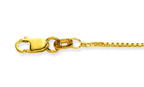 Glow Gouden Lengtecollier Venetiaans 0.9 Mm 201.1138.26