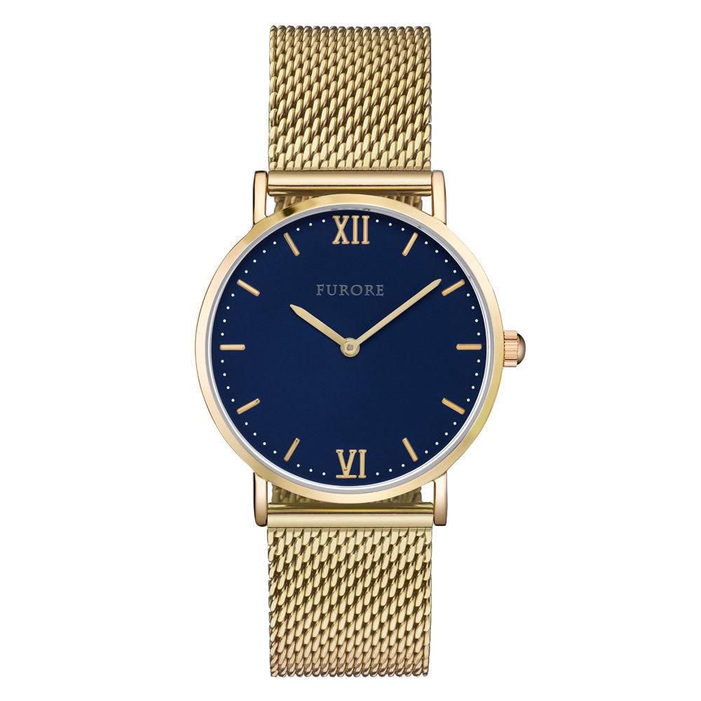 Furore FU1004 Breeze Playfull Goldplated horloge