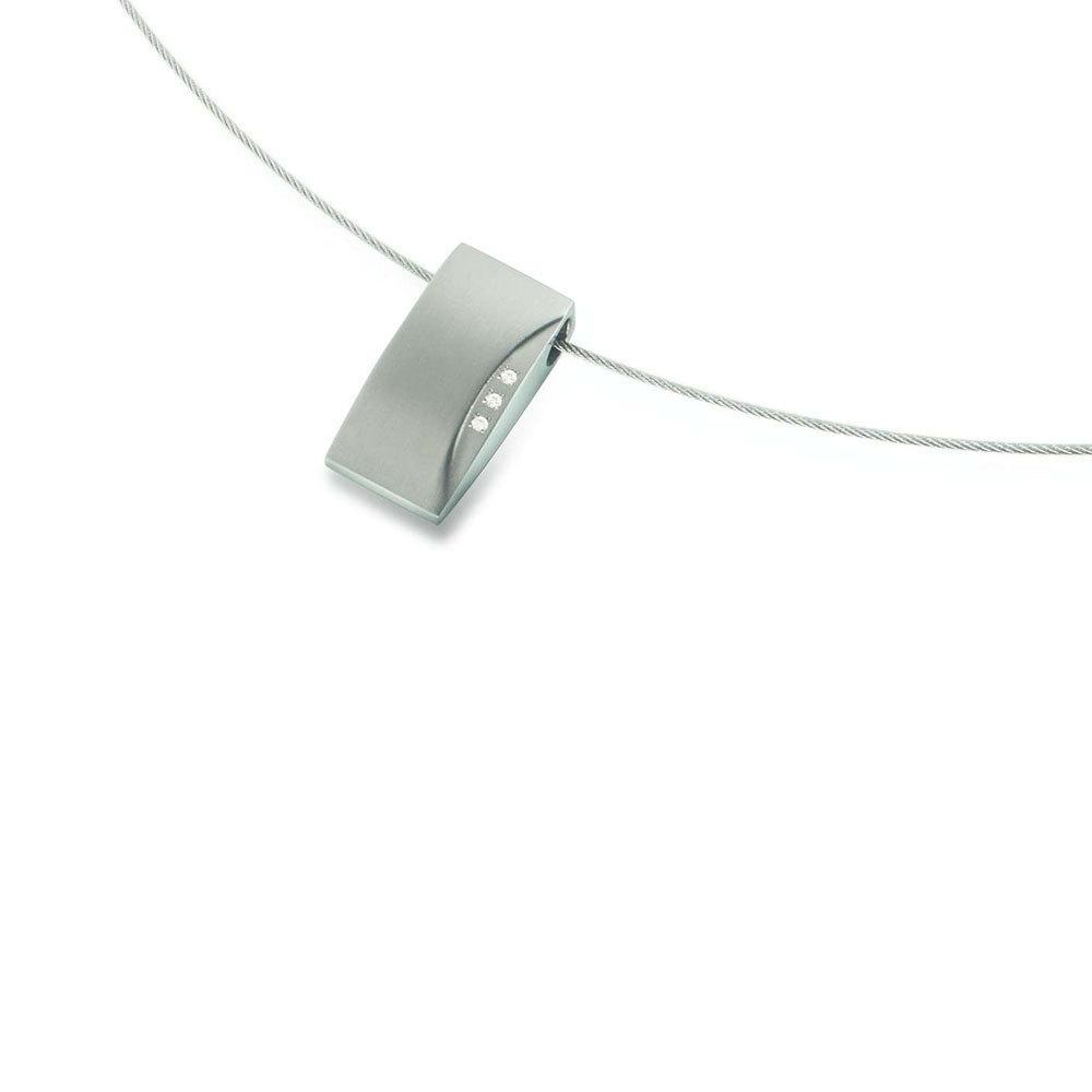Boccia Titanium 0793 02 Hanger met diamant