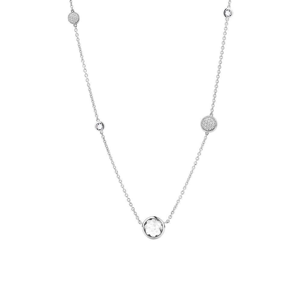 TI SENTO Milano 3907ZI luxe zilveren collier 42 cm