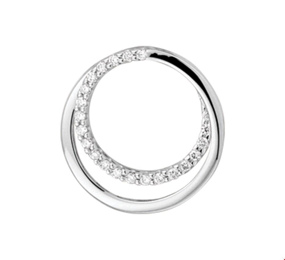 TFT Hanger Witgoud Diamant 0.09 Ct.