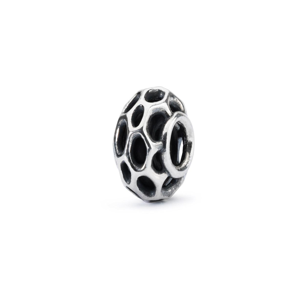 Trollbeads TAGBE-20147 Stopper Bijenkorf zilver