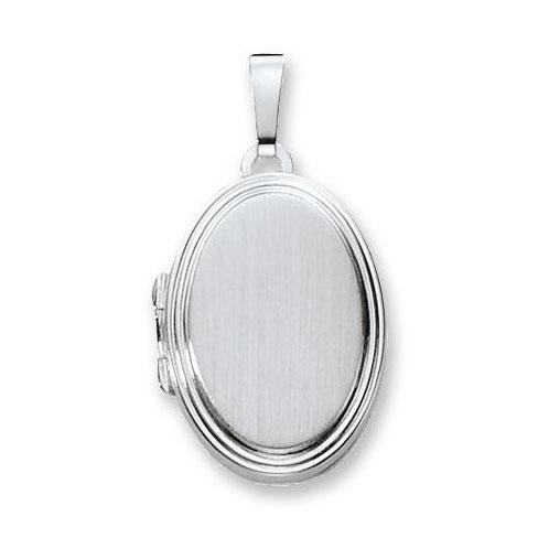 Zilveren Medaillon Ovaal bewerkt 17 mm 145.0020.00