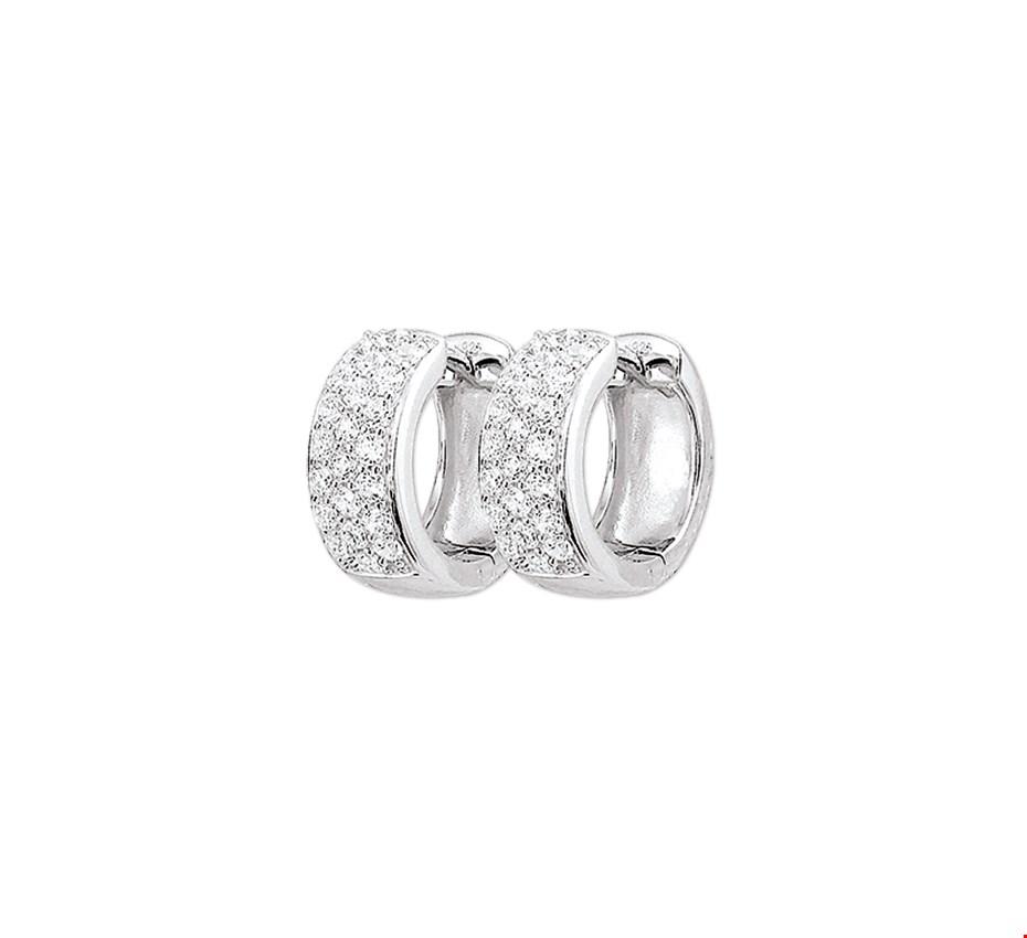 Selected Jewels zilveren creolen