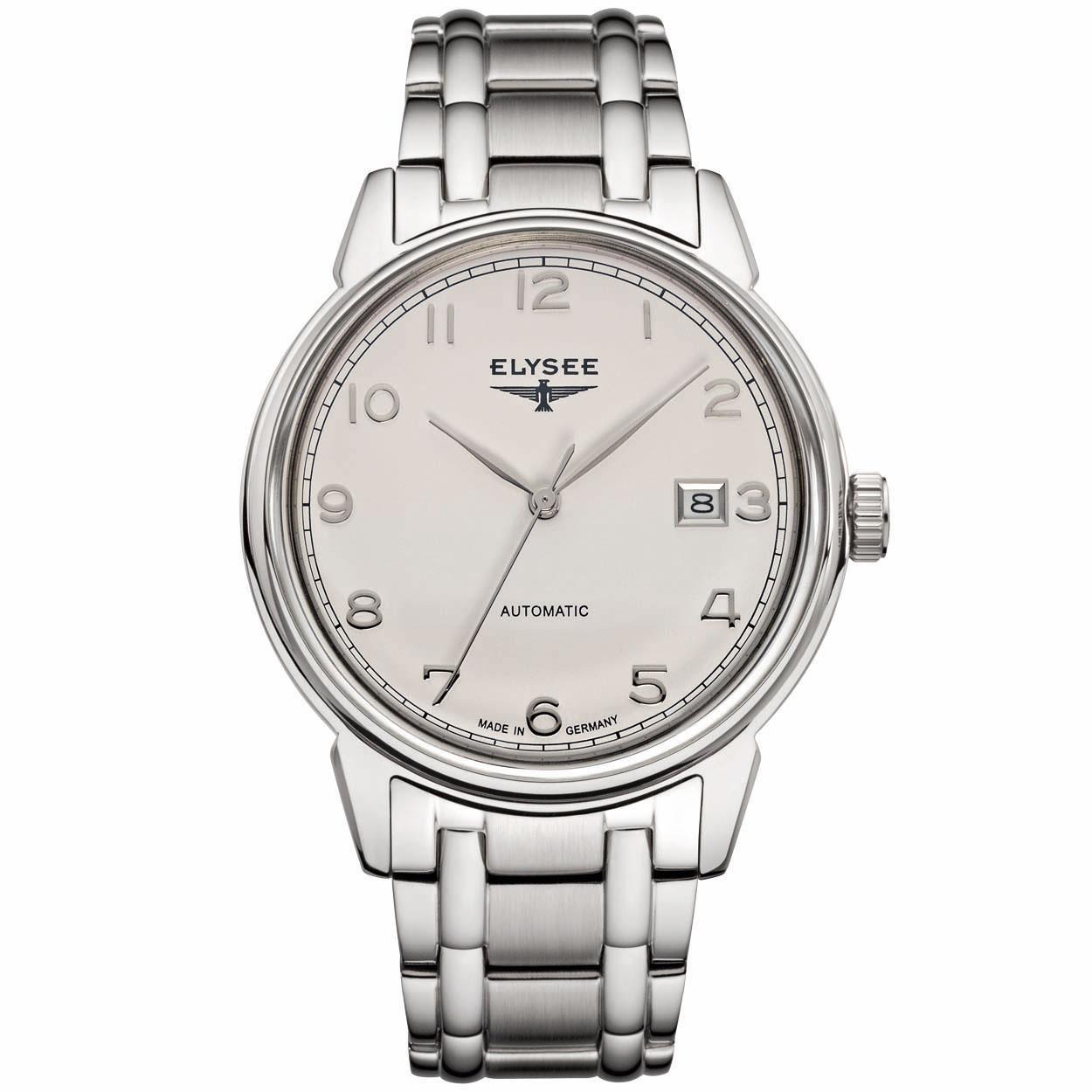 Elysee Herenhorloge EL.80545S All stainless Zilver