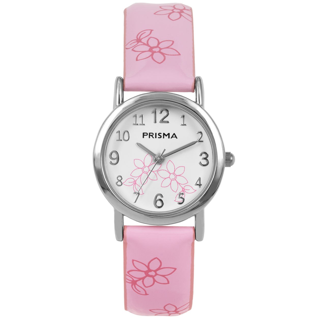 Coolwatch by Prisma CW.360 Kinderhorloge Lily staal/leder roze 26 mm