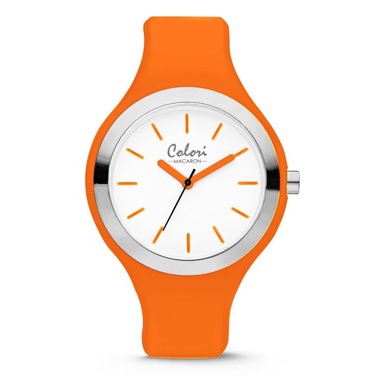 Colori Macaron 5 COL586 Horloge Siliconen Band Ø 44 mm