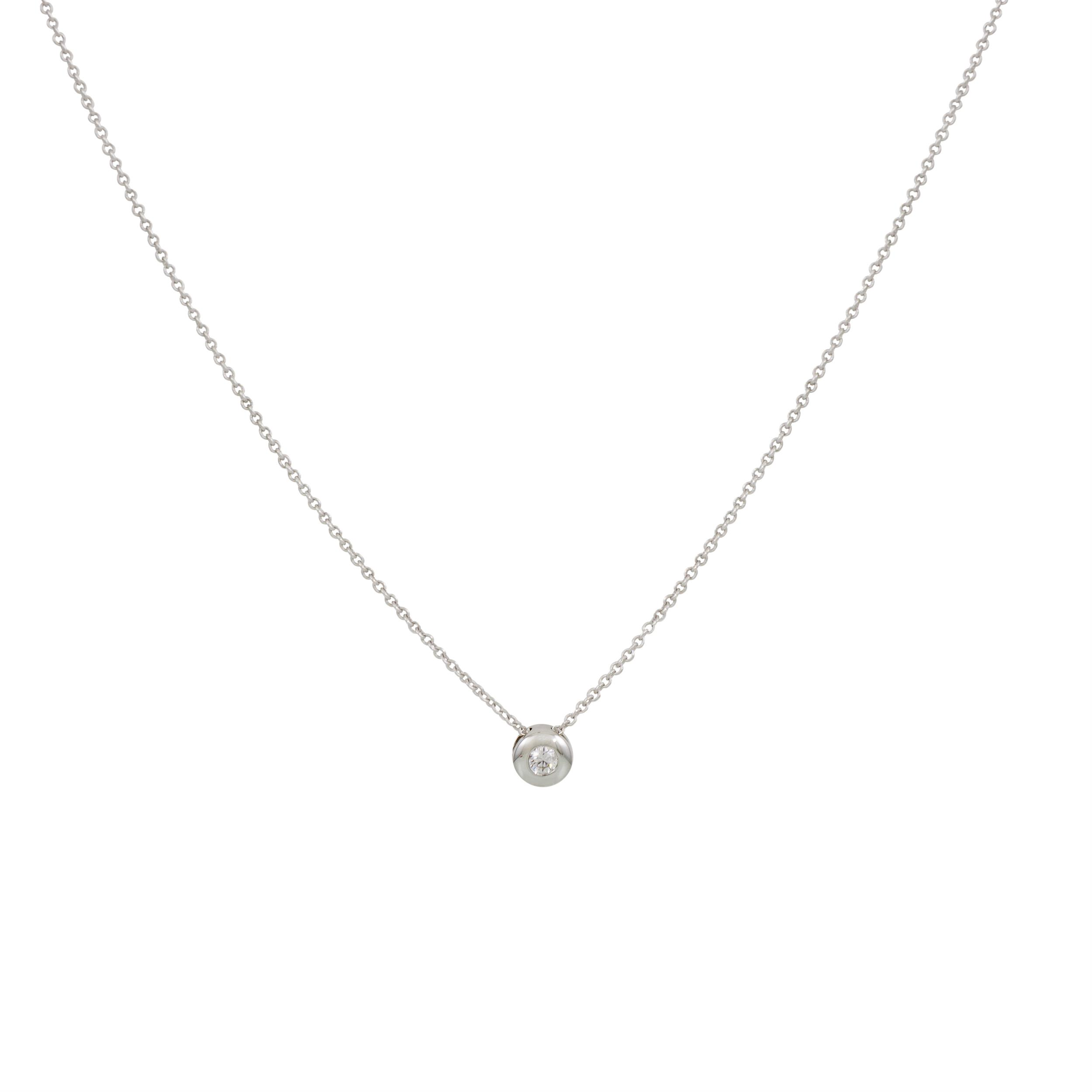 Diamant - 0.054 ct - gh/si3 45 cm - ankerschakel - diamant - 0.054 ct - gh/si3 202.3011.45