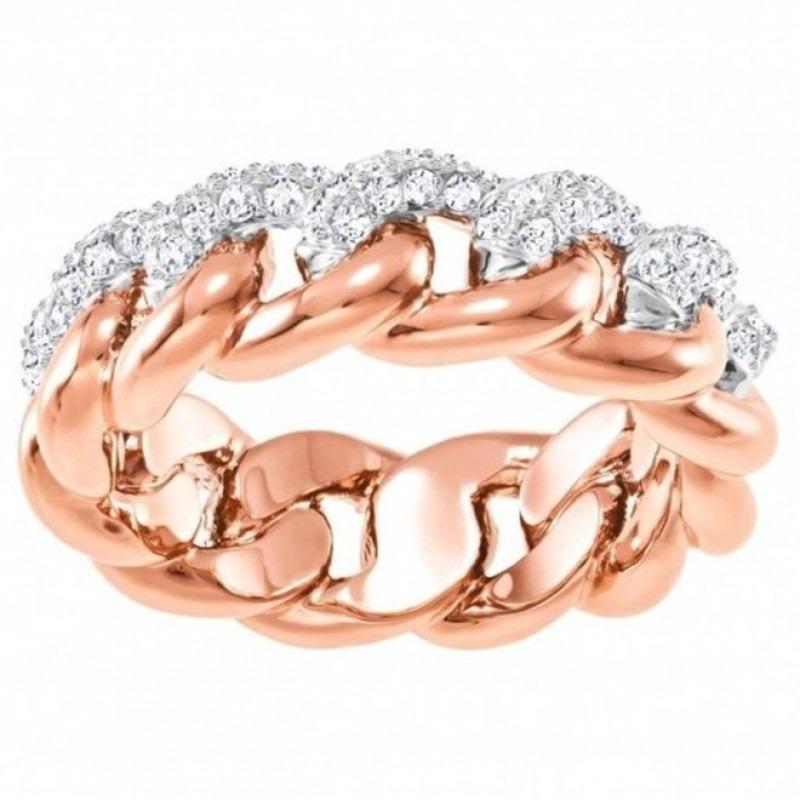 Swarovski Ring 5409185 Lane rosekleurig Maat 58 (retired)