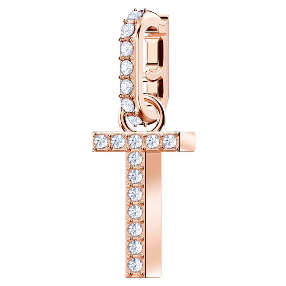 Swarovski 5437615 Remix Collection Charm T rosekleurig