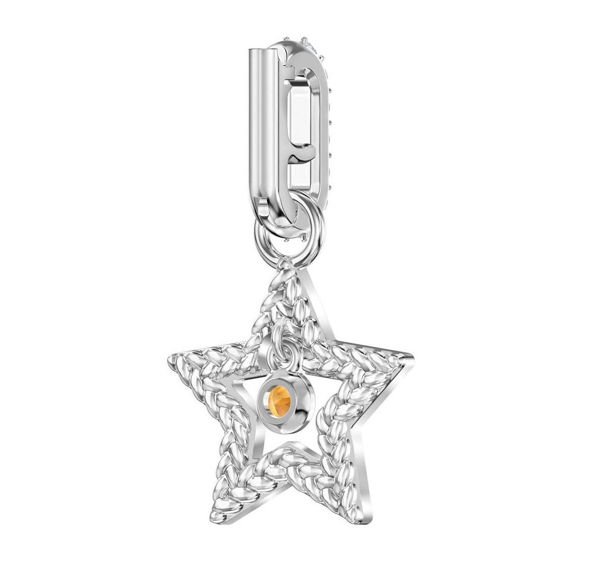 Swarovski Remix Collection Charm Star zilverkleurig 5443939