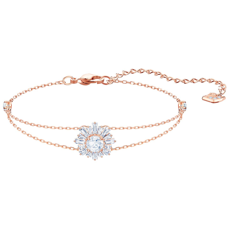 Swarovski 5451357 Armband Sunshine rosekleurig 16-19 cm