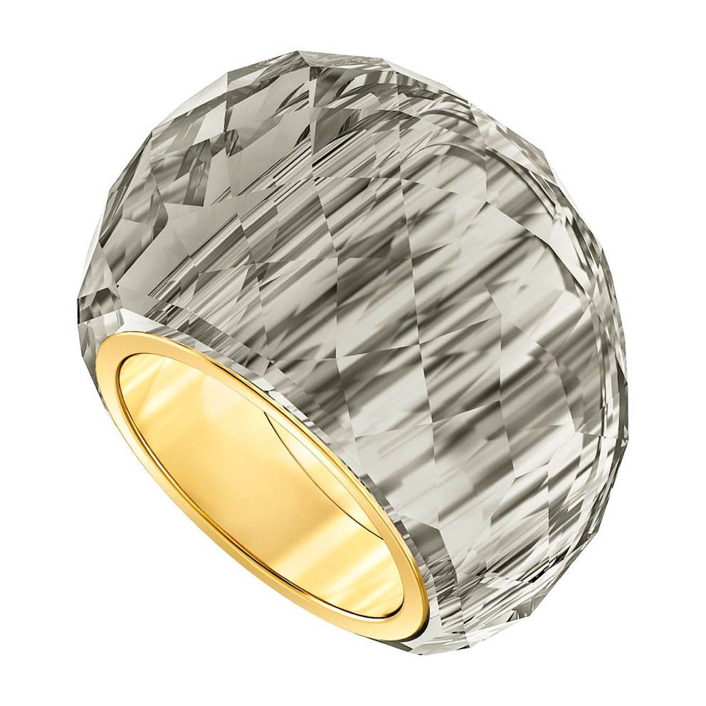 Swarovski 5474358 Ring Nirvana grijs-goudkleurig Maat 60