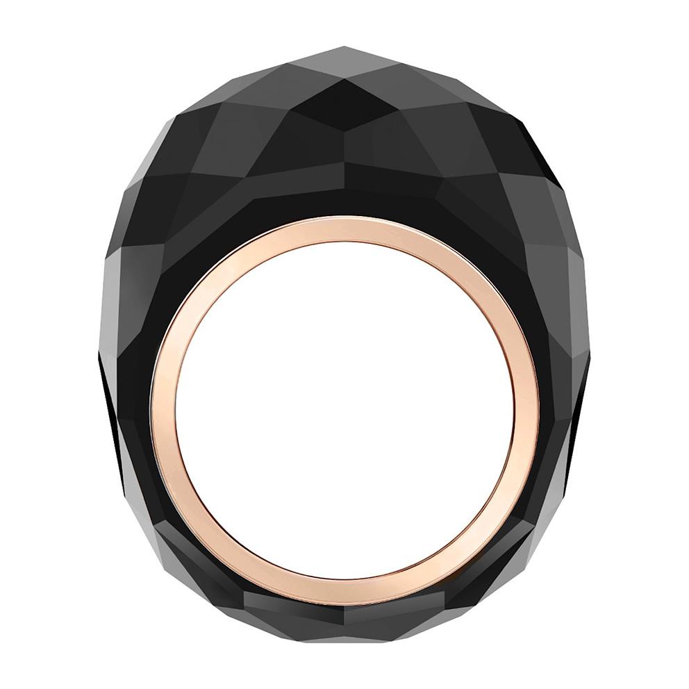 Swarovski 5474369 Ring Nirvana zwart-rosekleurig Maat 60