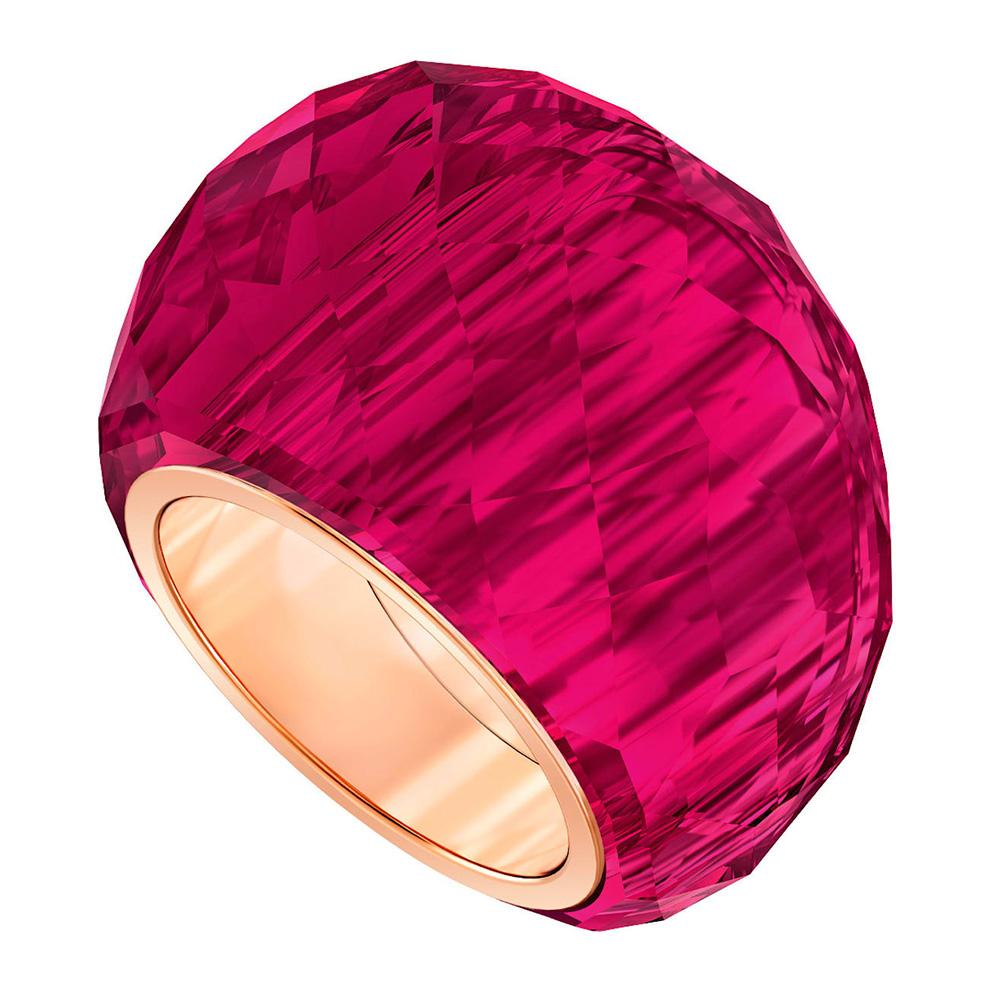 Swarovski 5474377 Ring Nirvana rood-rosekleurig Maat 58