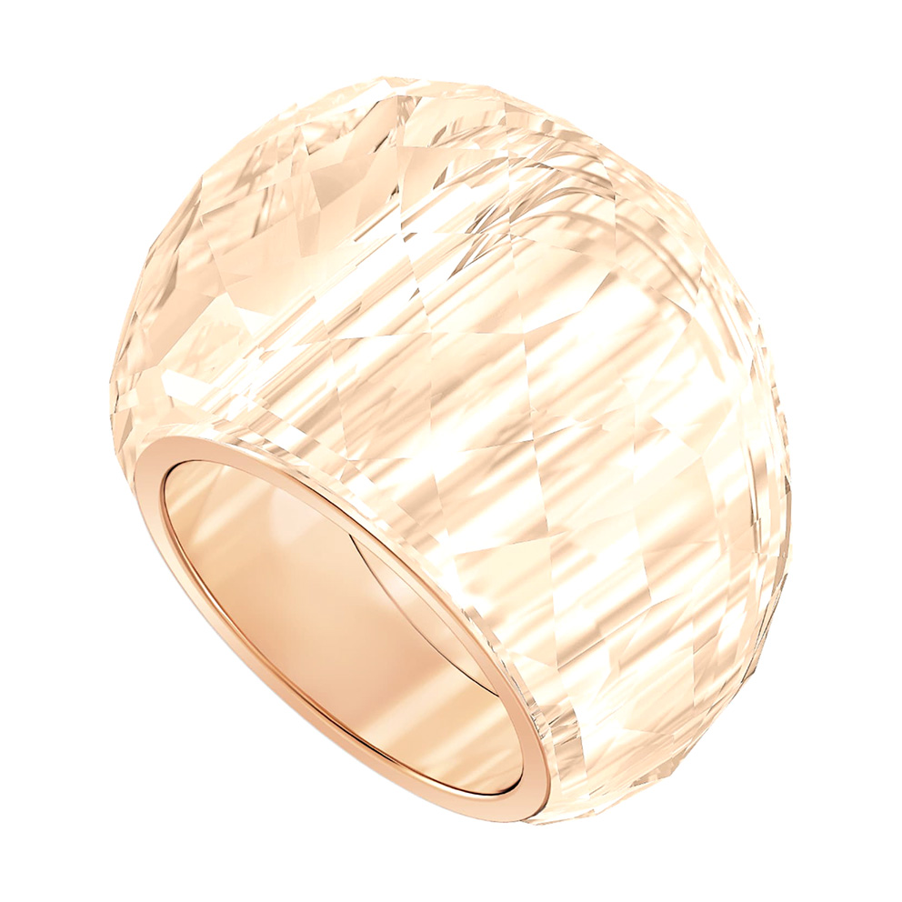 Swarovski 5474378 Ring Nirvana rosekleurig-bruin Maat 58