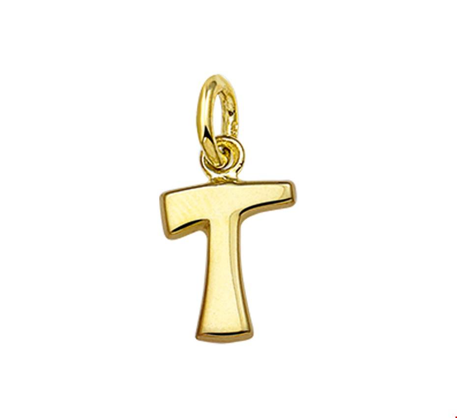 TFT Bedel Letter T Goud