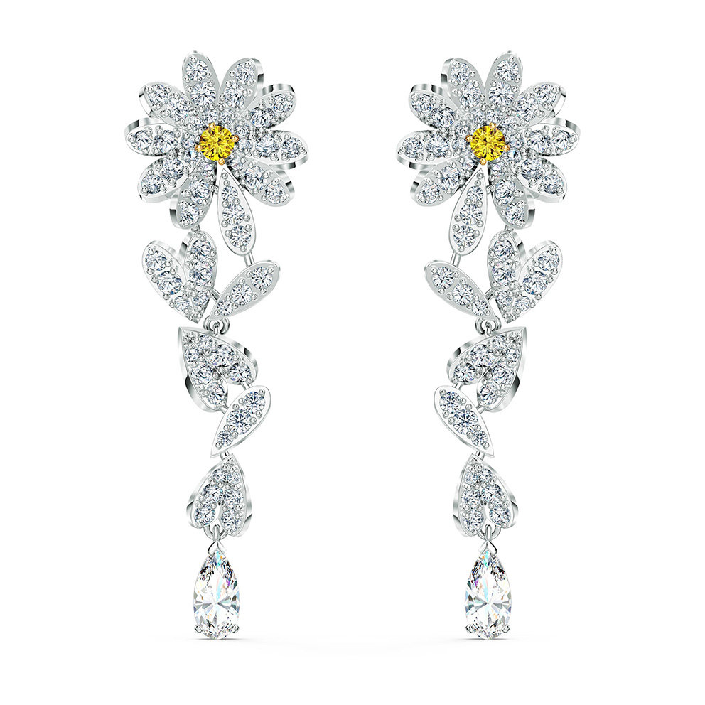 Swarovski 5512655 Oorbellen Eternal Flower Yellow