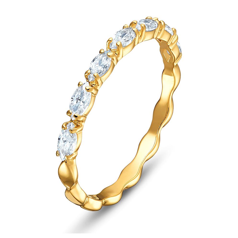 Swarovski 5525118 Ring Vittore Marquise goudkleurig Maat 55