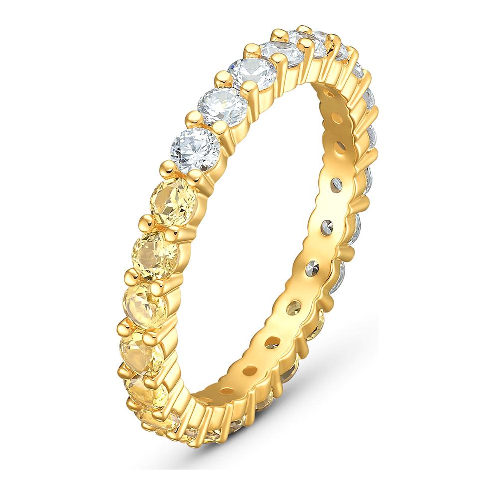 Swarovski 5535377 Ring Vittore Half goudkleurig Maat 58
