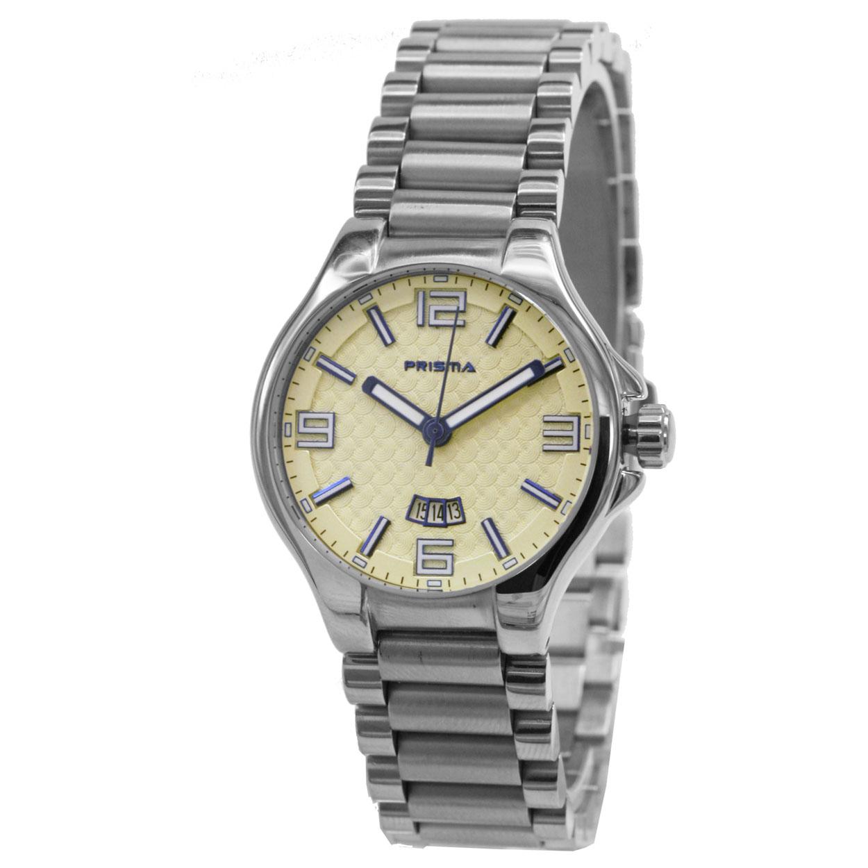 Prisma P.1066 Horloge Classic staal zilverkleurig 32 mm
