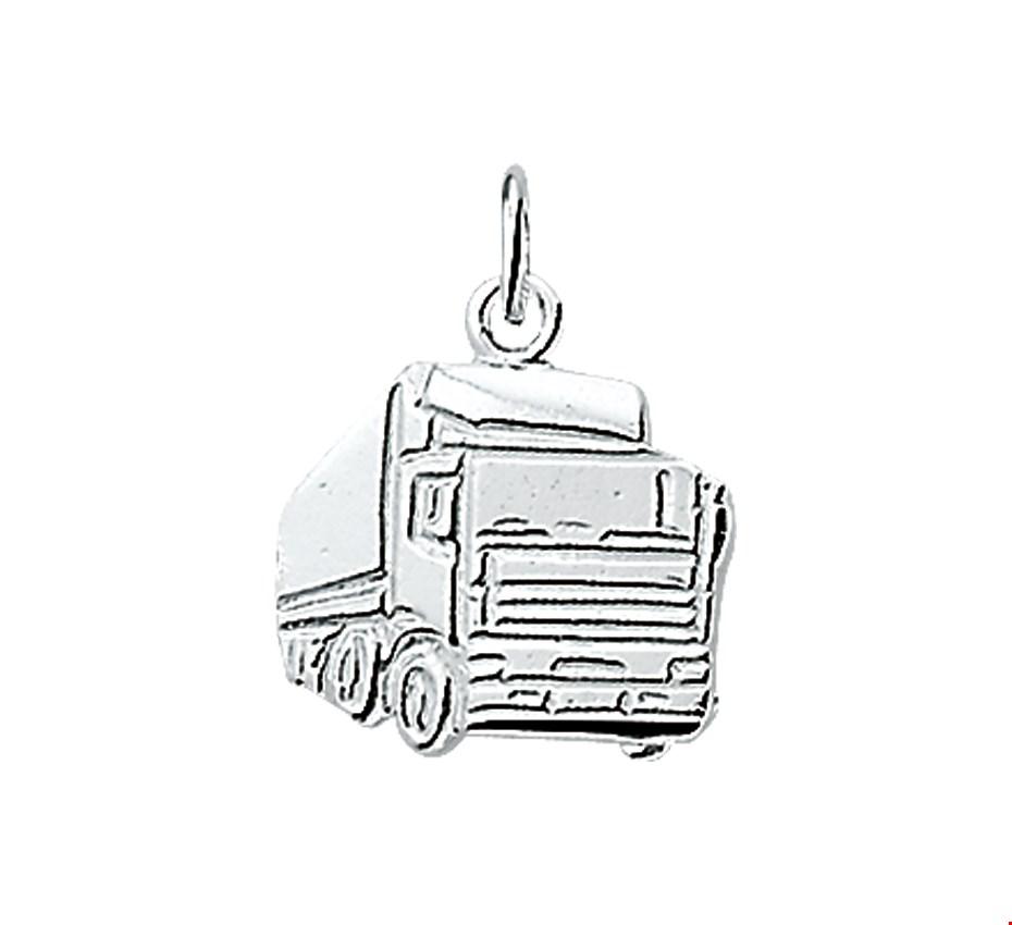 TFT Hanger Zilver Vrachtwagen 14,5 x 16 mm