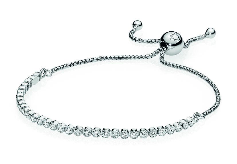 Pandora Armband zilver Zirconia 590524CZ-1 23 cm