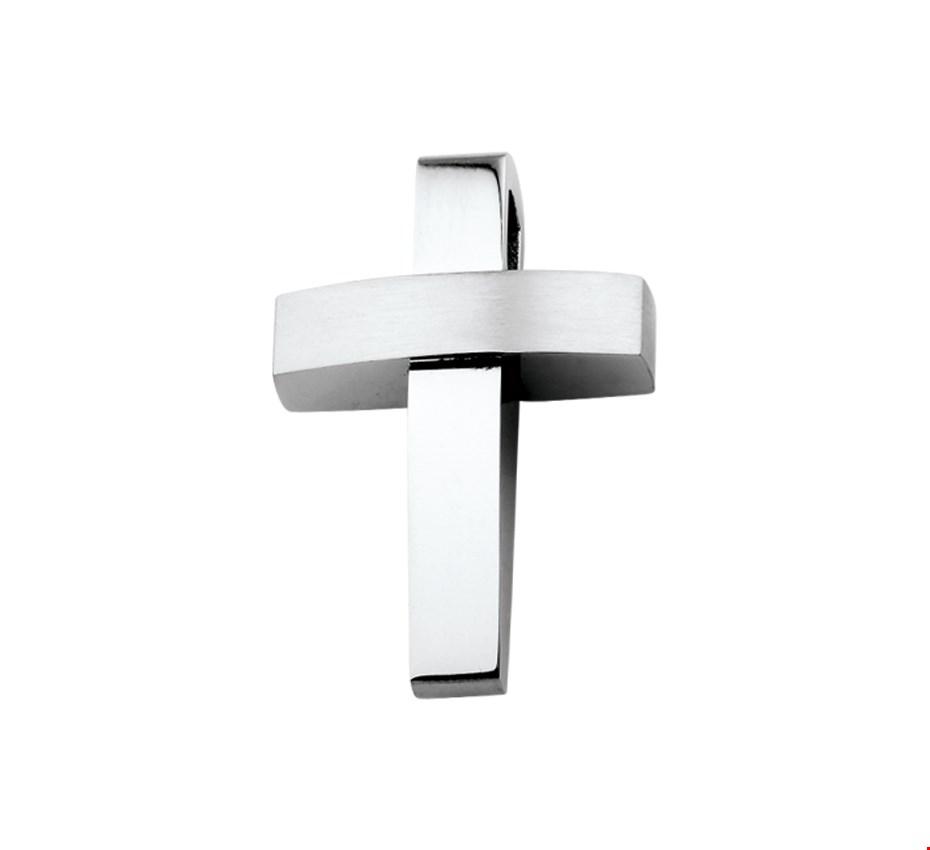 TFT Hanger Staal Kruis Poli/mat