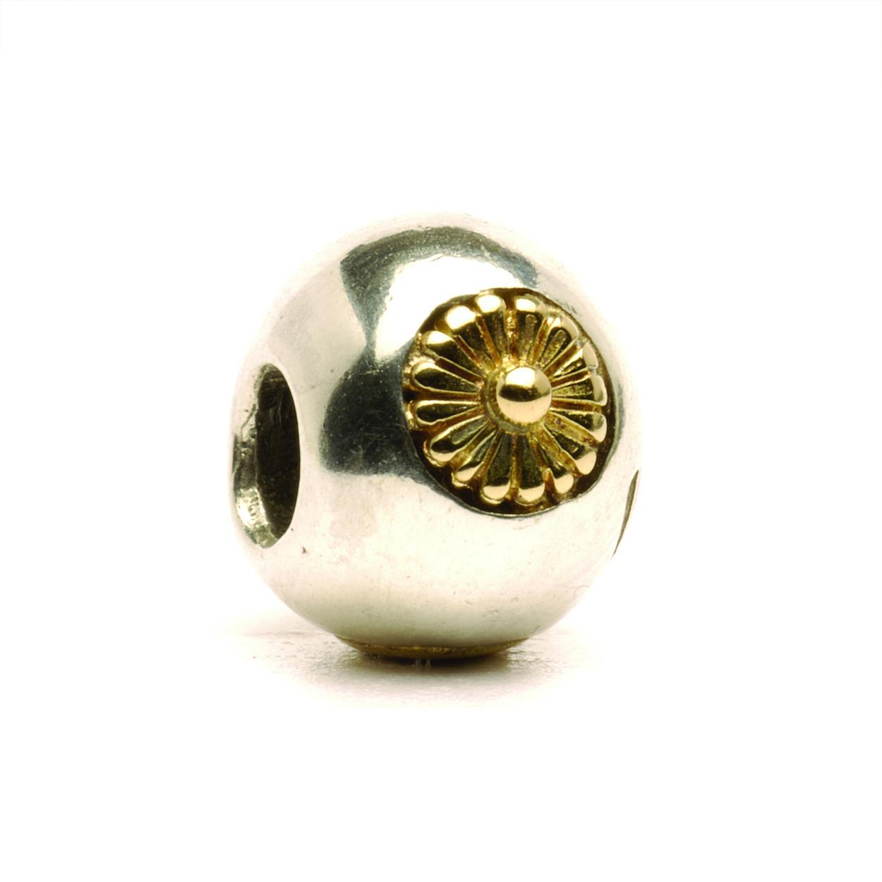 Trollbeads TAGBE 00075 Kraal Zonnekraal (retired) zilver goud