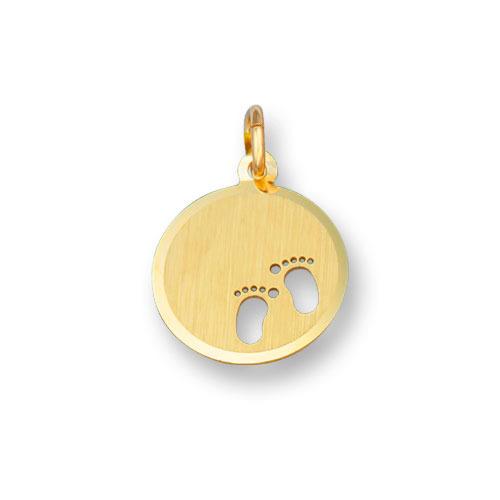 Huiscollectie 4015728 Gouden graveerplaat rond