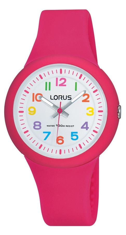 Lorus 'Young' Kinderhorloge Roze bandje RRX49EX9