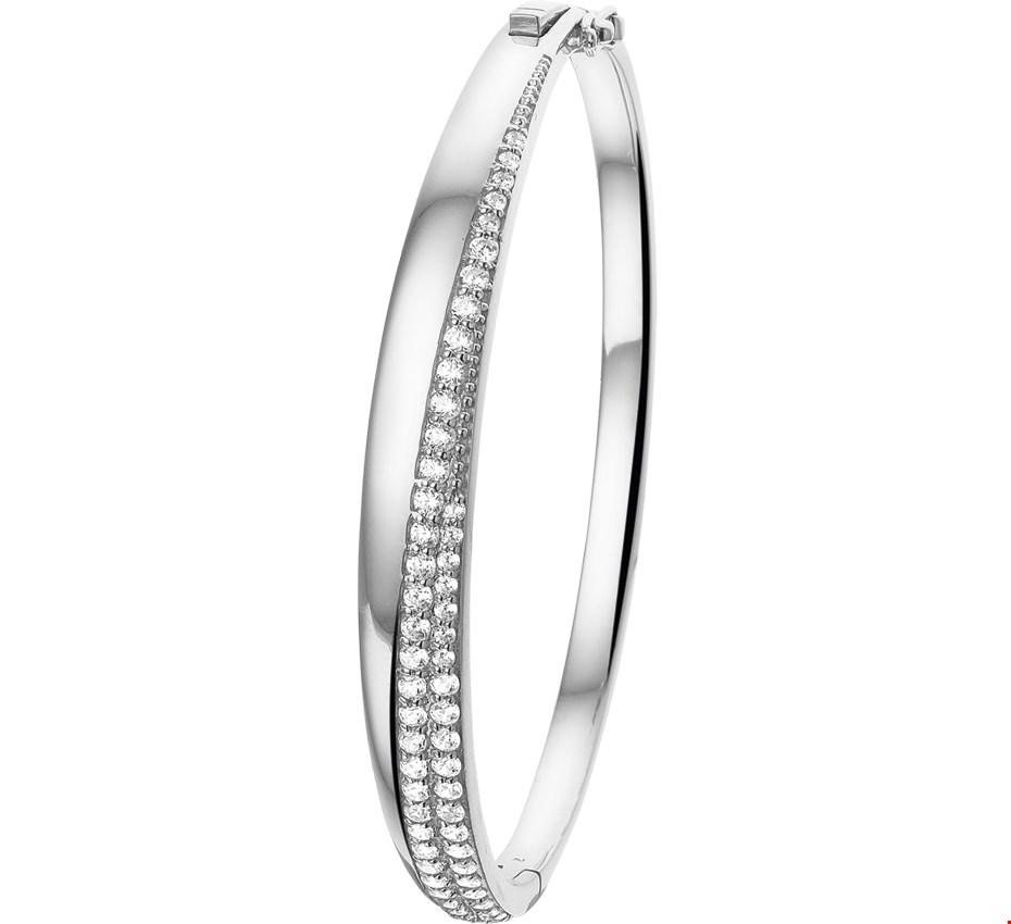 Selected Jewels zilveren slavenarmband