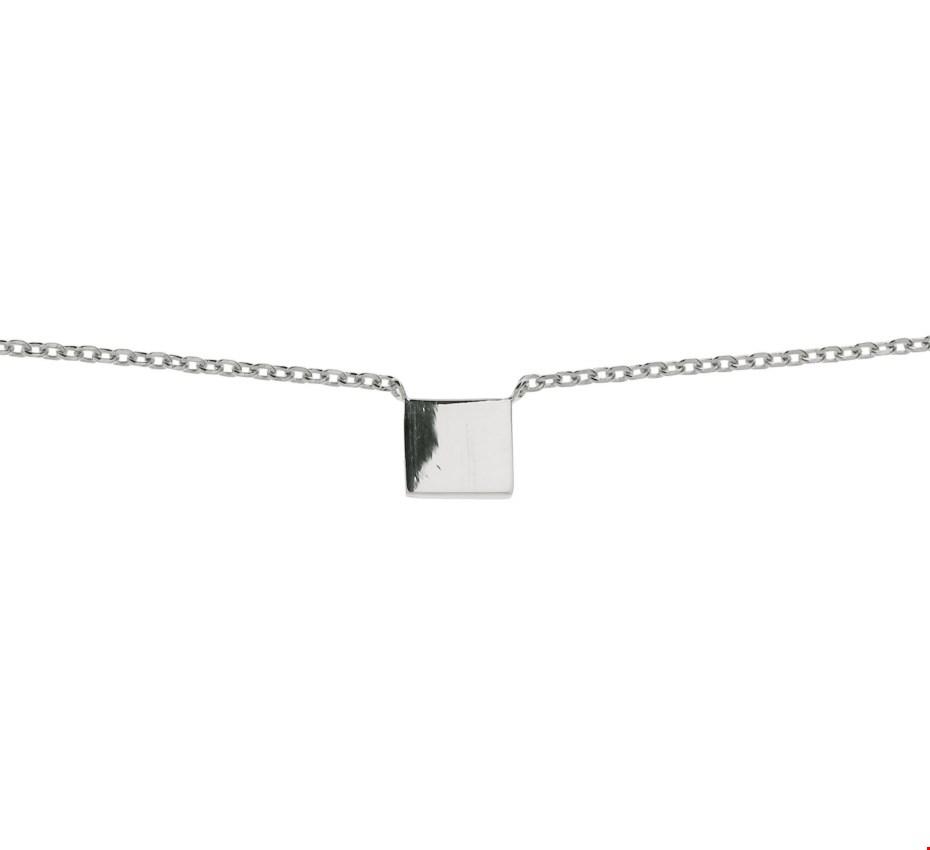 TFT Zilveren Ketting 1,3 mm 40,5 + 5,0 cm
