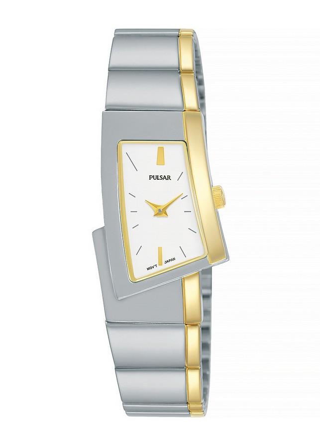 Pulsar PJ5422X1 dameshorloge Topmodel bicolor 21 mm