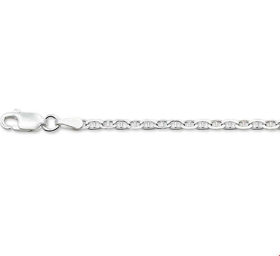 TFT Zilveren Ketting Anker 2,1 mm
