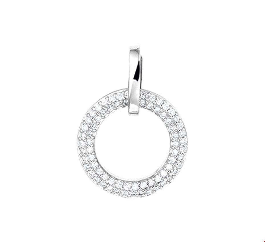 TFT Hanger Witgoud Diamant 0.25 Ct.