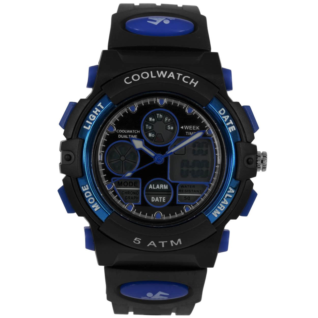 Coolwatch Kinderhorloge CW.385 Plastic/silicone Kunststof