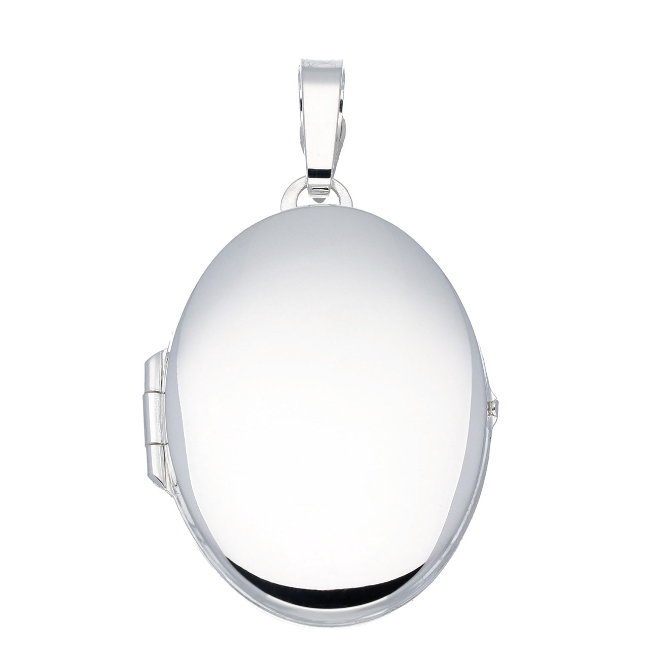 Zilveren Medaillon Ovaal - Glad - 24 x 34 mm 145.0010.00
