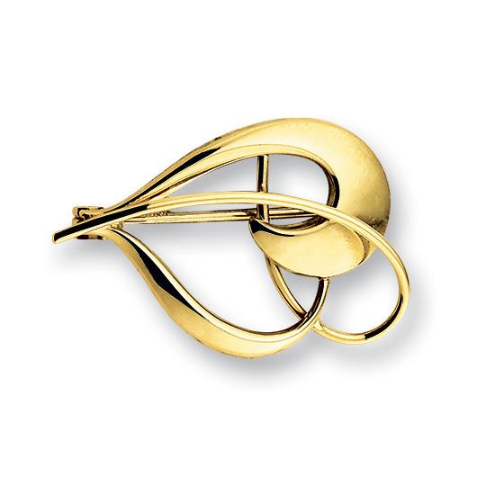 Huiscollectie 4009222 Gouden broche
