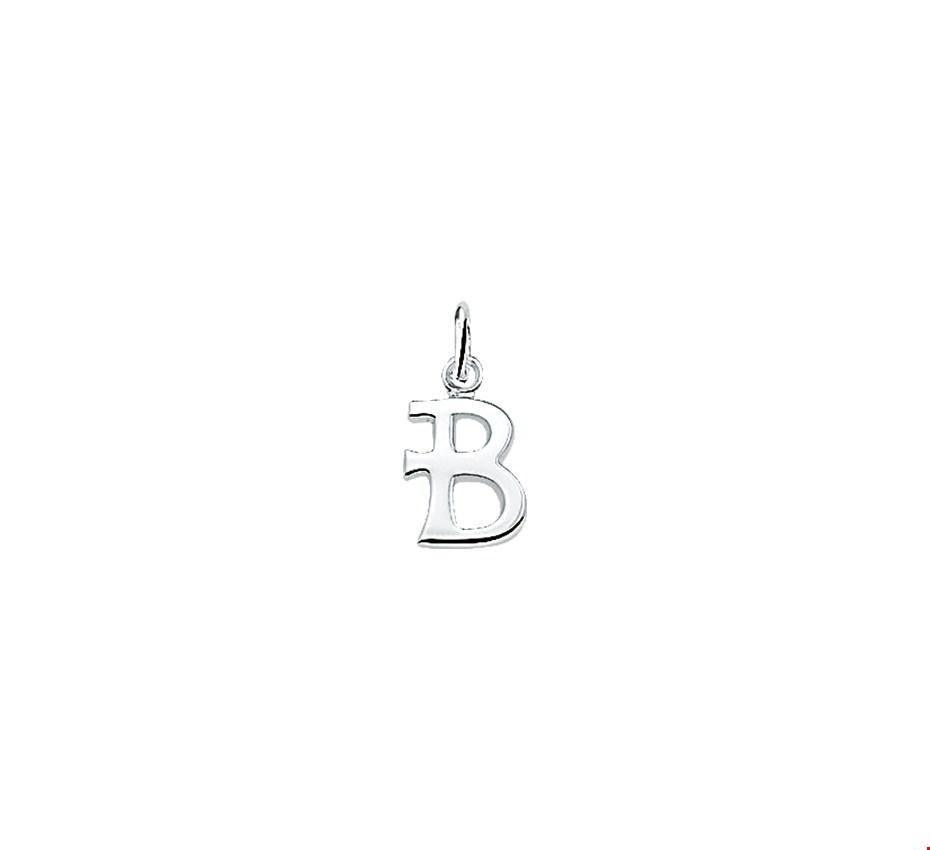 TFT Bedel Letter B Zilver
