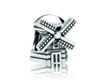 Pandora bedel zilver 'Windmolen' 791297