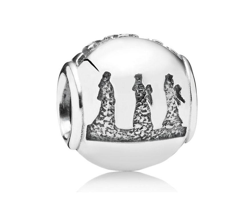 Pandora Bedel zilver 'Kerstverhaal' 791402
