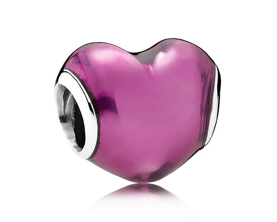 Pandora Zilveren bedel 'In My Heart' 791814EN62