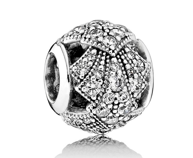 Pandora Bedel zilver 'Oosterse Waaier' 791906CZ