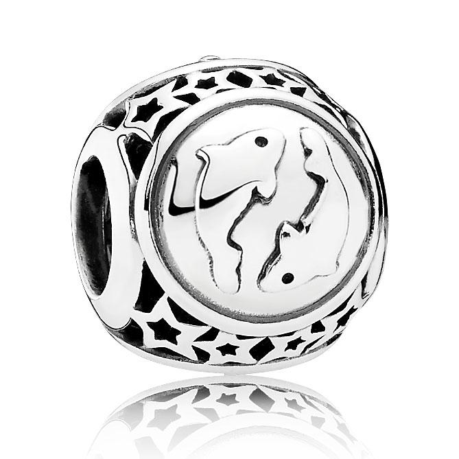 Pandora Bedel zilver Sterrenbeeld 'Vissen' 791935