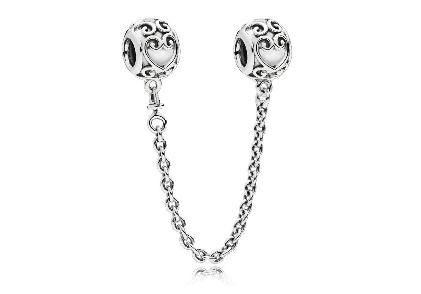 Pandora Veiligheidsketting zilver Enchanted Heart 797036-05