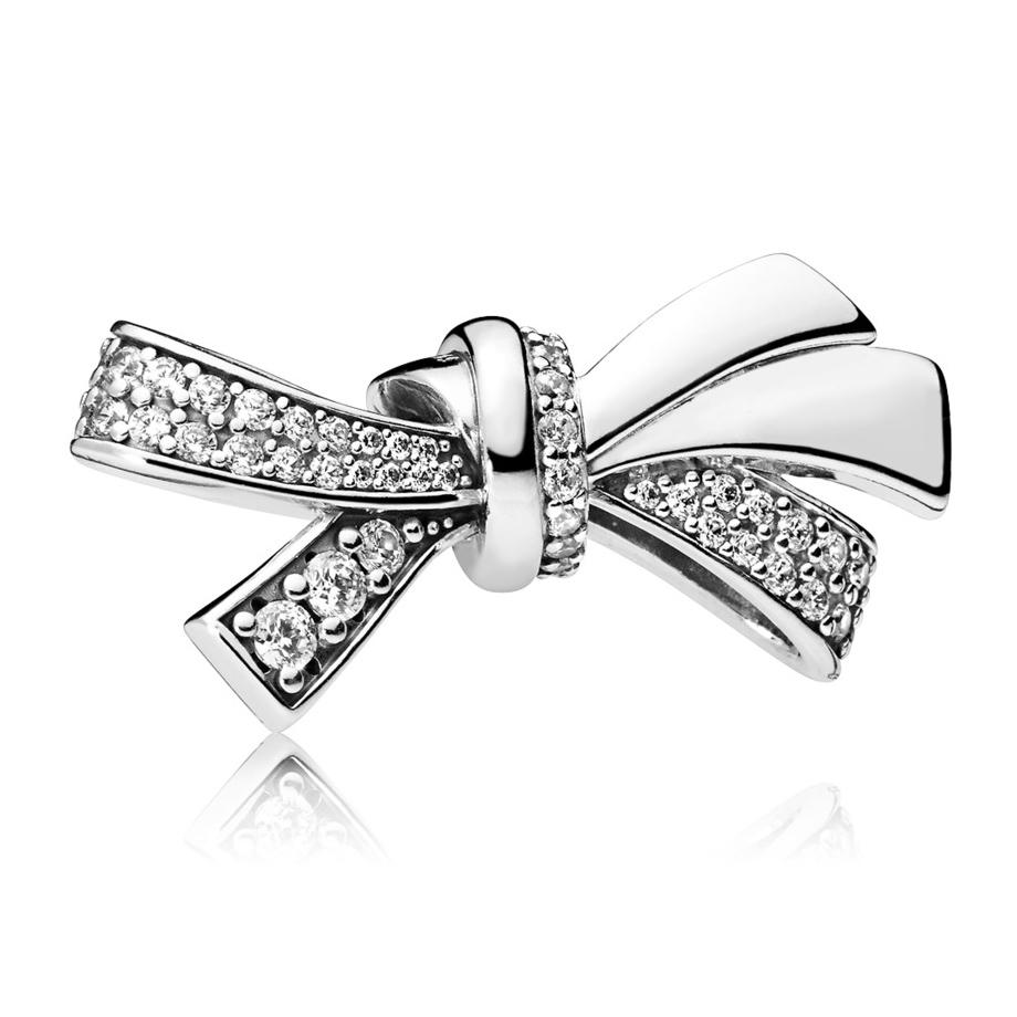 Pandora bedel 797241CZ zilver Brilliant Bow