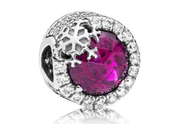 Pandora 797555NCC Bedel Dazzling Snowflake zilver