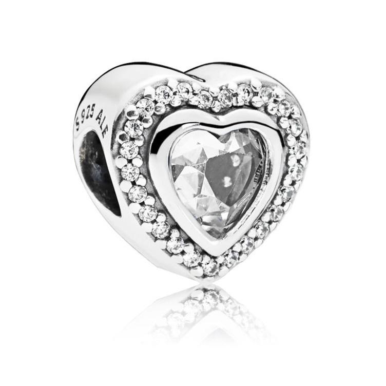 Pandora bedel 797608CZ zilver Sparkling Love